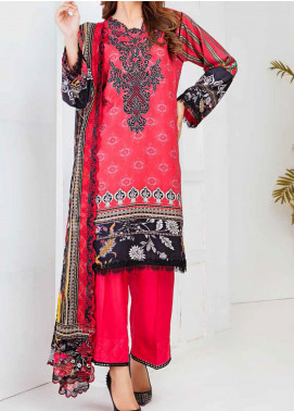 Aayra Embroidered Linen Unstitched 3 Piece Suit AY20WL 07 - Winter Collection