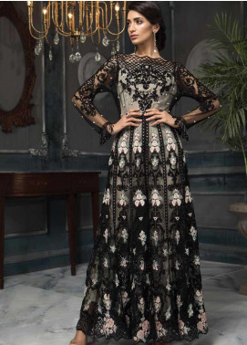 Aayra Embroidered Net Unstitched 3 Piece Suit AY19C 5 - Luxury Collection