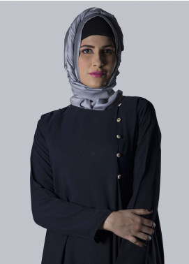 Blue Jeans Fancy Style Abaya for Women - ABY18 007