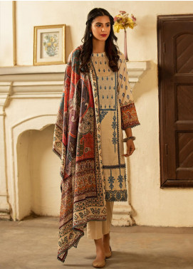 Abyaan Embroidered Lawn Unstitched 3 Piece Suit ABY20L 7 - Luxury Collection