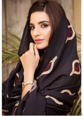 Adamjee Embroidered Khaddar Shawl AD17W 05