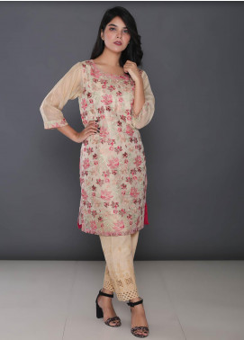 Addee Embroidered Missouri Net Stitched Kurtis K014 Skin