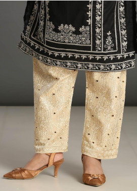 Addee Embroidered Missouri Stitched Trouser T004 Skin
