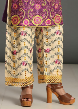 Addee Embroidered Missouri Stitched Trouser T005 Skin