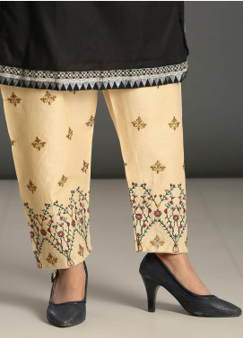 Addee Embroidered Missouri Stitched Trouser T006 Skin