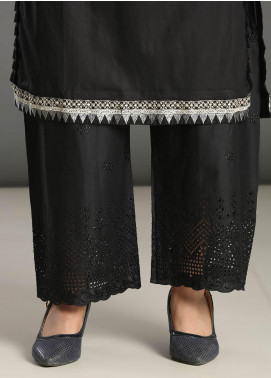 Addee Embroidered Missouri Stitched Trouser T007 Black