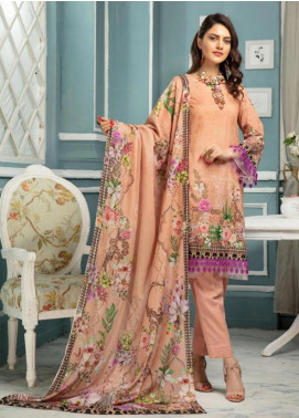 Afreen by Riaz Arts Embroidered Lawn Unstitched 3 Piece Suit ARA20L 36 - Summer Collection