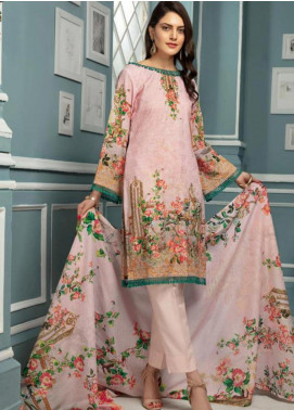 Afreen by Riaz Arts Embroidered Lawn Unstitched 3 Piece Suit ARA20L 37 - Summer Collection