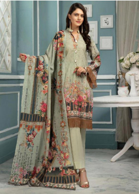 Afreen by Riaz Arts Embroidered Lawn Unstitched 3 Piece Suit ARA20L 39 - Summer Collection