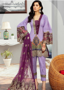 Afroze by Celina Embroidered Lawn Unstitched 3 Piece Suit C20AL 11 - Summer Collection