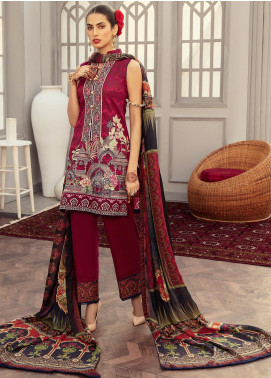 Afroze by Celina Embroidered Lawn Unstitched 3 Piece Suit C20AL 12 - Summer Collection