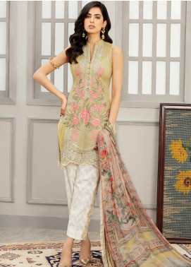 Afroze by Celina Embroidered Lawn Unstitched 3 Piece Suit C20AL 3 - Summer Collection