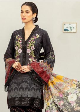 Afroze by Celina Embroidered Lawn Unstitched 3 Piece Suit C20AL 5 - Summer Collection