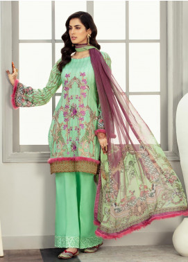 Afroze by Celina Embroidered Lawn Unstitched 3 Piece Suit C20AL 7 - Summer Collection
