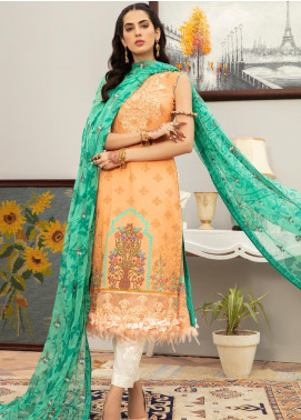 Afroze by Celina Embroidered Lawn Unstitched 3 Piece Suit C20AL 9 - Summer Collection