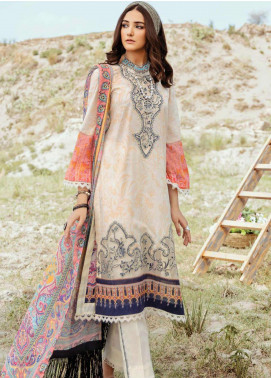 Afrozeh Embroidered Lawn Unstitched 3 Piece Suit AF20R 04 MOONLIGHT GLAM - Spring / Summer Collection