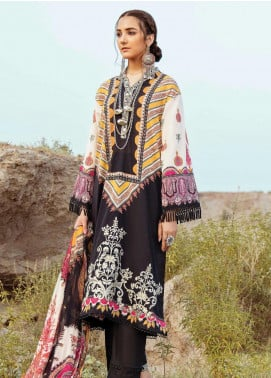 Afrozeh Embroidered Lawn Unstitched 3 Piece Suit AF20R 05 MYSTICAL GLORY - Spring / Summer Collection