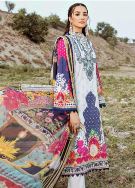 Afrozeh Embroidered Lawn Unstitched 3 Piece Suit AF20R 07 SUMMER FUSION - Spring / Summer Collection
