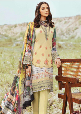 Afrozeh Embroidered Lawn Unstitched 3 Piece Suit AF20R 09 TROPIC PARADISE - Spring / Summer Collection