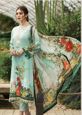 Afrozeh Embroidered Lawn Unstitched 3 Piece Suit AF20S 05 Pansy - Spring / Summer Collection