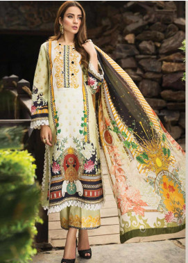 Afrozeh Embroidered Lawn Unstitched 3 Piece Suit AF20S 07 Anne Lace - Spring / Summer Collection