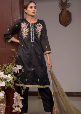 Afsanay by Elaheh Embroidered Cotton Unstitched 3 Piece Suit ELH20AF 02 - Luxury Collection