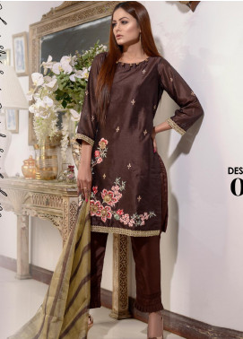 Afsanay by Elaheh Embroidered Cotton Unstitched 3 Piece Suit ELH20AF 04 - Luxury Collection