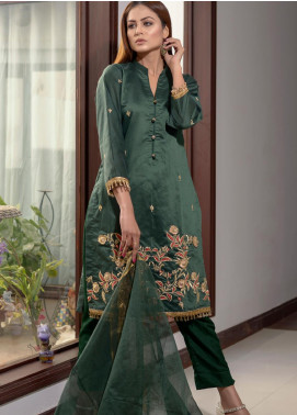 Afsanay by Elaheh Embroidered Cotton Unstitched 3 Piece Suit ELH20AF 05 - Luxury Collection