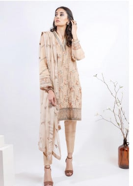 AIK Atelier Embroidered Lawn Unstitched 3 Piece Suit AIK20E-2 LOOK 01 - Spring / Summer Collection