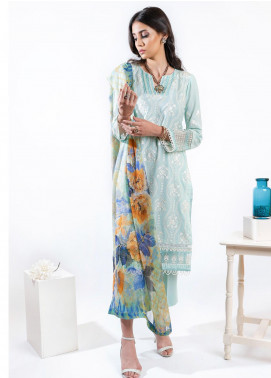 AIK Atelier Embroidered Lawn Unstitched 3 Piece Suit AIK20E-2 LOOK 02 - Spring / Summer Collection