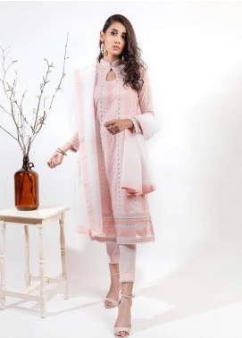 AIK Atelier Embroidered Lawn Unstitched 3 Piece Suit AIK20E-2 LOOK 03 - Spring / Summer Collection