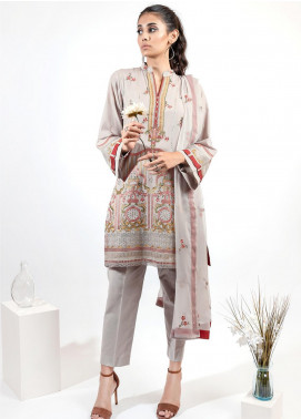 AIK Atelier Embroidered Lawn Unstitched 3 Piece Suit AIK20E-2 LOOK 04 - Spring / Summer Collection