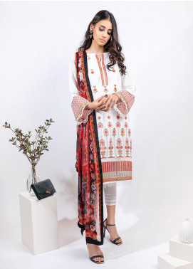 AIK Atelier Embroidered Lawn Unstitched 3 Piece Suit AIK20E-2 LOOK 05 - Spring / Summer Collection