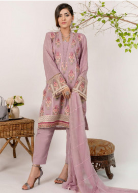 AIK Atelier Embroidered Lawn Unstitched 3 Piece Suit AIK20E-3 LOOK-02 - Spring / Summer Collection