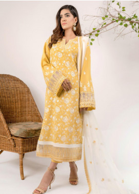 AIK Atelier Embroidered Lawn Unstitched 3 Piece Suit AIK20E-3 LOOK-03 - Spring / Summer Collection