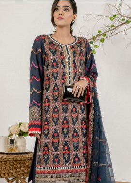 AIK Atelier Embroidered Lawn Unstitched 3 Piece Suit AIK20E-3 LOOK-04 - Spring / Summer Collection