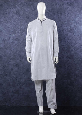 Aizaz Zafar Toyobo Formal Shalwar Kameez for Men -  685 Grey