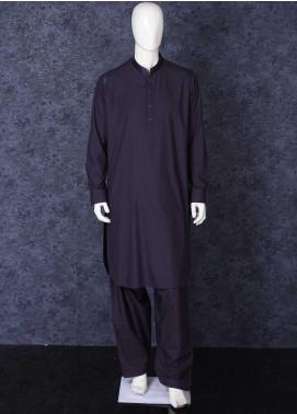 Aizaz Zafar Wash N Wear Formal Shalwar Kameez for Men - 685 Mouve