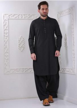 Aizaz Zafar Wash N Wear Formal Shalwar Kameez for Men -  AZ20FM D-685 Black