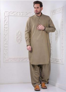 Aizaz Zafar Wash N Wear Formal Shalwar Kameez for Men -  AZ20FM D-685 Golden