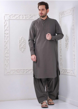 Aizaz Zafar Wash N Wear Formal Shalwar Kameez for Men -  AZ20FM D-685 Green