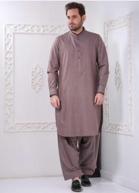 Aizaz Zafar Wash N Wear Formal Shalwar Kameez for Men -  AZ20FM D-685 M-Brown