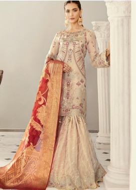 Akbar Aslam Embroidered Missouri Unstitched 3 Piece Suit AA21F AAWC-1343 - Formal Luxury Collection