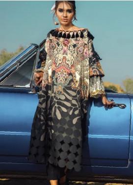 Al Karam Embroidered Cotton Satin Unstitched 2 Piece Suit AK19N FW-D8-19-2 - Luxury Collection