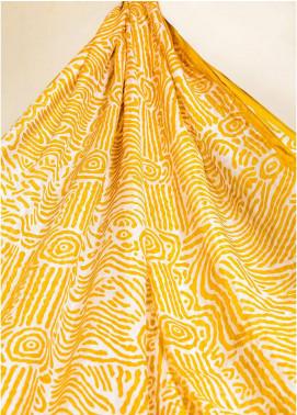 Al Karam Printed Tissue Silk Stitched Dupatta AK19N FW-SD5-19-2