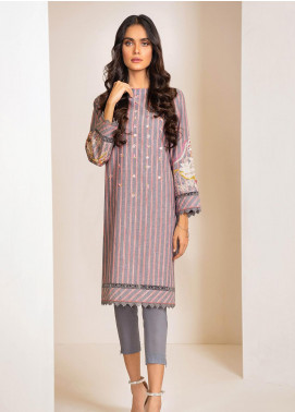 Al Karam Embroidered Yarn Unstitched 2 Piece Suit AK20W FW-32-20 GREY - Winter Collection
