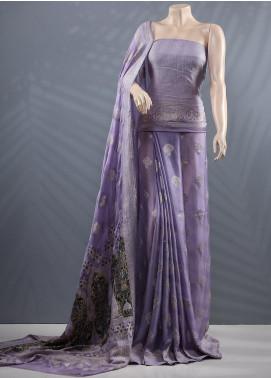 Al Rahim Banarsi Embroidered Chiffon Unstitched Saree ARB20MC RC1327 - Wedding Collection