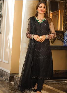 Al Zohaib Embroidered Missouri Unstitched 3 Piece Suit AZ21FW D-02 - Wedding Collection