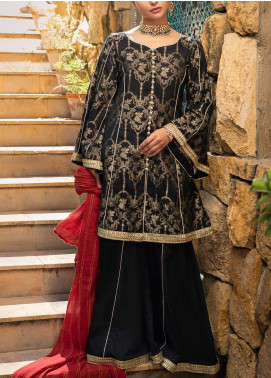 Al Zohaib Embroidered Jacquard Unstitched 3 Piece Suit AZ20JS 01 - Summer Collection