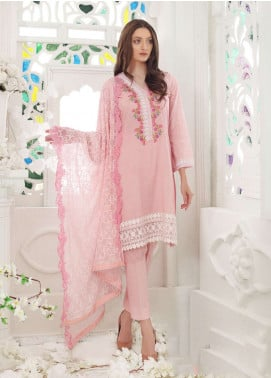 Al Zohaib Embroidered Lawn Unstitched 3 Piece Suit AZ19SA PR-03 - Spring / Summer Collection